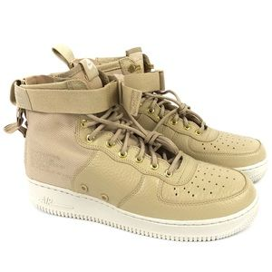 Nike SF AF1 Air Force 1 Mid Mens 9 Leather Shoes
